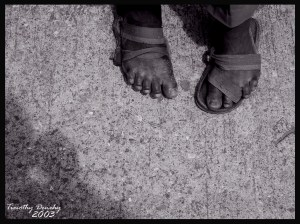 Homeless Jamaican in Ocho Rios by timlori