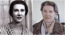 Mary Elmes during the war years and in later life